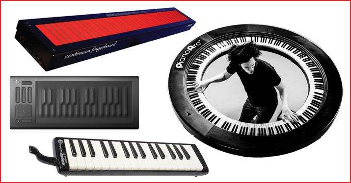 Four Alternative Keyboard Instruments