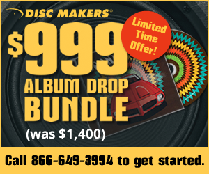 Disc Makers $999 Album Drop Bundle