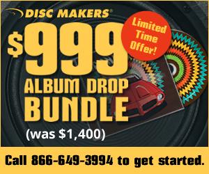 Disc Makers $999 Album Drop Bundle