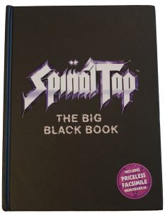 Spinal Tap The Big Black Book Cover