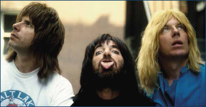 Spinal Tap Tufnel Smalls St Hubbins
