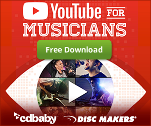Free guide called YouTube for Musicians