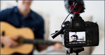 Producing a music video is one of many ways to get an audience's attention
