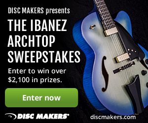 Enter the Ibanez Contemporary Archtop Sweeps