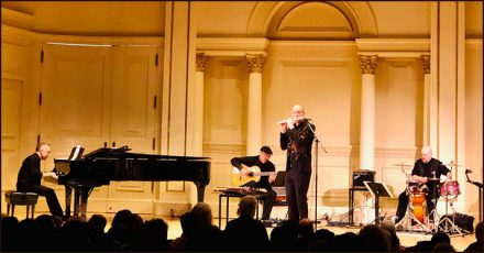 playing at Carnegie Hall