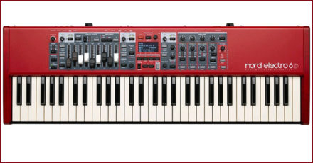 Nord electric keyboard