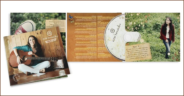 premium CD packaging 6 panel wallet