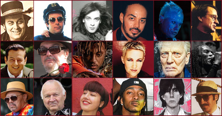 Musicians who died 2019