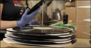 vinyl manufacturing process finished records