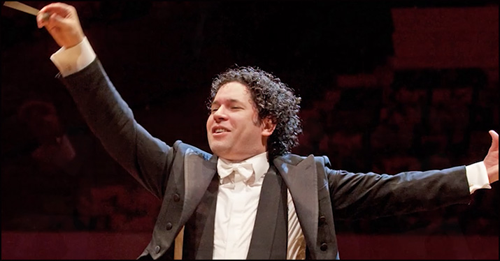 Gustavo Dudamel classical conductor