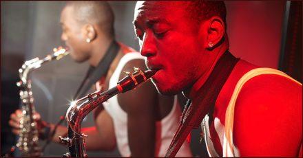 recording saxophone
